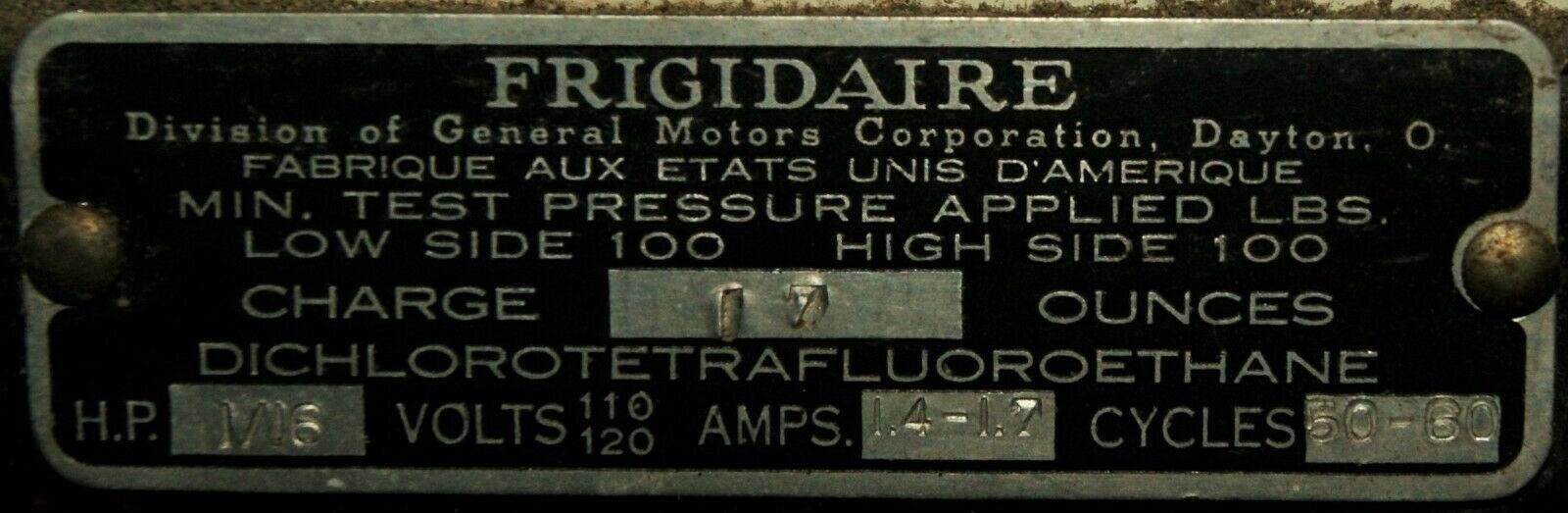 Frigidaire de 1939